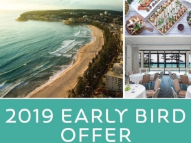 2019 Offer, Book Events Now & Save, Novotel Manly Pacific, Think Local Deals
