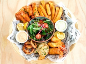 Seafood Lunch Basket Only $39