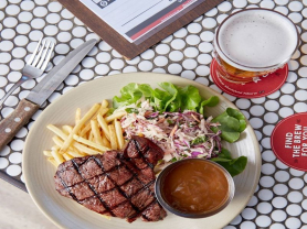 $15 Rump Steak & Chips Every Wednesday
