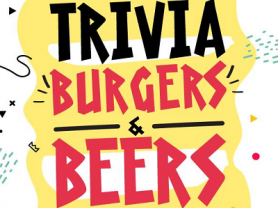 Trivia, Burgers & Beers on Monday