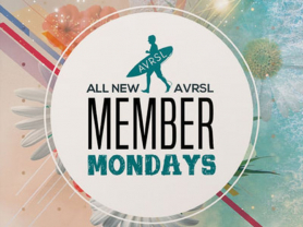 Member Mondays $5 Drinks All Day
