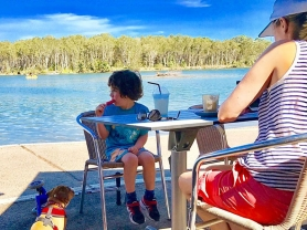 Kids Eat Free At Brekky & Lunch Weekdays, The Boatshed Cafe and Bar