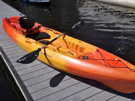 Spend $40 on Brekky, Get FREE Kayak Hire