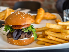 2-4-1 Burger & Chips, Only $14, THink Local Deal