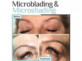 1/2 Price Microblading Brows Now $400, Skinfit Therapy, Think Local Deals