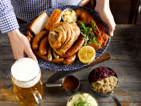 Tasting Platter & 2 Litres of Beer $74, Think Local Deal, Austrian Beer Bar and Restaurant