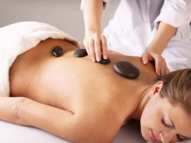 45 Min Relaxing Massage With Hot Stones, Aki's Spa Thai Massage, Think Local Deals