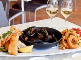 Seafood Platter for 2 People Only $49, Think Local Deal, Palm Beach Golf Course