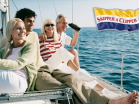 3 Hour Sailing Lesson For 4 People: $316, Skipper A Clipper, Think local Deals
