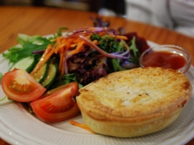 2-4-1 Freshly Made Pie & Salad: $8.50, Ganache Patisserie, Think Local Deals